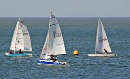Chemin de plaisance de regatta image libre de droits