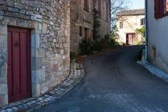 Chemin de Puycelsi Photographie stock libre de droits