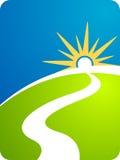 Chemin de route Image libre de droits