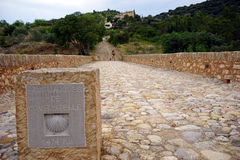 Chemin de SAint Jacques Images libres de droits