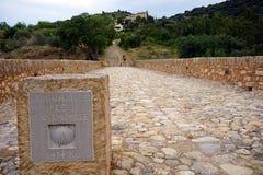 Chemin de SAint Jaques Royalty Free Stock Images