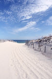Chemin de Sandy à la plage Image libre de droits