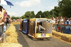 Chemin de Soapbox de Red Bull Images stock