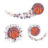 Chemin de star du basket-ball illustration libre de droits