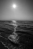 Chemin de Sun Photo libre de droits