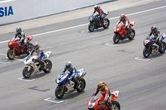 Chemin de Superbike photos libres de droits