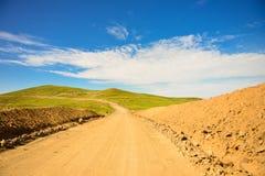 Chemin de terre Photos stock