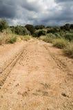 Chemin de terre en Espagne Photos libres de droits