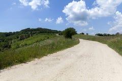 Chemin de terre rural photographie stock