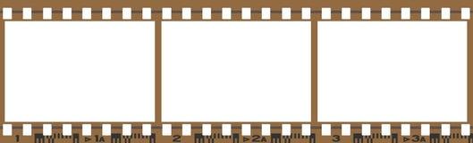 Chemin de travail de film Image libre de droits