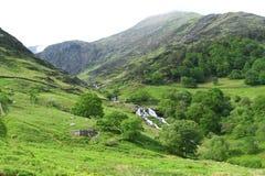 Chemin de Watkin dans Snowdonia Images stock