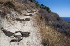 Chemin en colline Photographie stock libre de droits