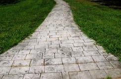 Chemin en pierre Image libre de droits