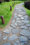 Chemin en pierre image stock