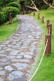 Chemin en pierre photographie stock