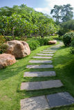 Chemin en pierre Images stock