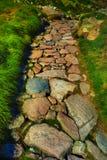 Chemin en pierre Photo libre de droits