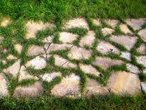 Chemin en pierre Photo stock