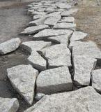 Chemin en pierre Photographie stock libre de droits