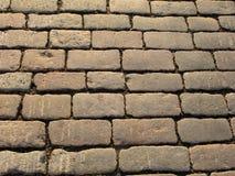 Chemin en pierre de pavé Photographie stock libre de droits