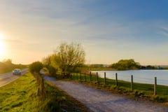 Chemin est de Sussex-pays de Rye images libres de droits