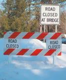 Chemin fermé de clip de signe de route Image stock