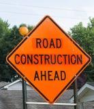 Chemin fermé de clip de signe de route Photos stock