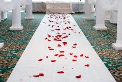 Chemin final au mariage Photographie stock libre de droits