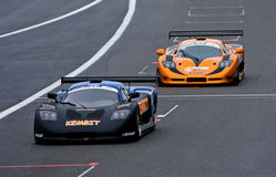 Chemin hollandais d'enjeu de Supercar 2010/Mosler MT900R Photo libre de droits