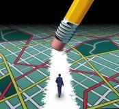 Chemin innovateur Image libre de droits