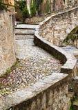 chemin médiéval Photographie stock libre de droits