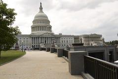Chemin menant au bâtiment capital à Washington D C Photos libres de droits