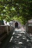 Chemin ombragé Photographie stock libre de droits