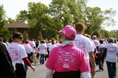 Chemin pour le remède Susan 2010 G. Komen Photos stock