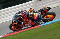 Chemin principal de Marc Marquez de Moto 2 Photographie stock libre de droits