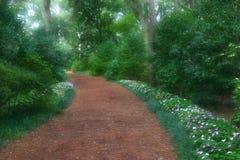 Chemin rêveur de jardin Image libre de droits