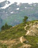 Chemin s'élevant Photo libre de droits