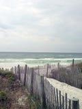 Chemin sur la plage Image libre de droits