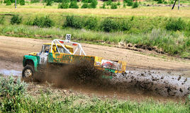 Chemin transnational de camion Photo stock