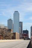 Chemin vers Dallas du centre photos libres de droits
