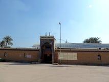 Chemin vers la grande mosquée de Koufa, Najaf, Irak photographie stock libre de droits