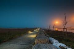 Chemin vers la mer Photographie stock libre de droits