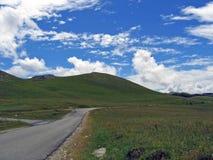 Chemin vers le ciel Photo stock