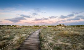 Chemin vers le paradis Photo stock