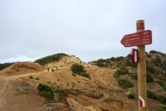 Chemin vers Vallehermoso Photographie stock