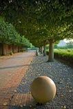Chemin vide. Image stock