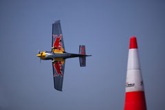 Chemins d'air de Red Bull Photo libre de droits
