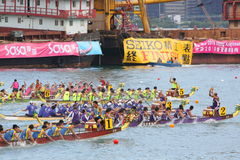Chemins de bateau de dragon de Hong Kong Int'l 2010 Images stock
