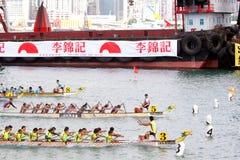 Chemins de bateau de dragon de Hong Kong Int'l 2012 Images libres de droits