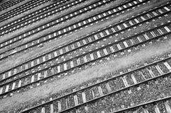 Chemins de fer Images libres de droits
